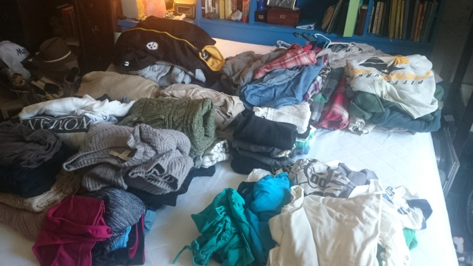 Marie Kondo Method Clothes
